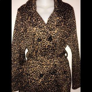 Free Spirit NY Leopard Jacket 🧥